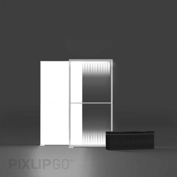 PIXLIP GO   Lightbox 100 cm x 200 cm indoor   einseitig