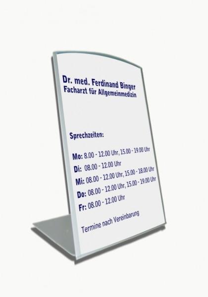 Tischaufsteller | System Zenit | 15 cm x 15 cm